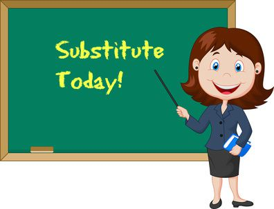 Substitute teacher clipart 2 » Clipart Station.