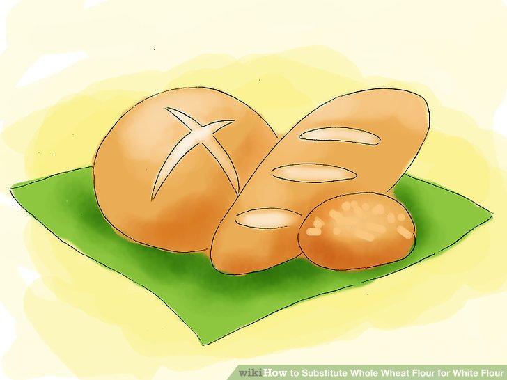 3 Ways to Substitute Whole Wheat Flour for White Flour.