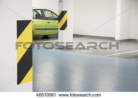 Stock Photography of Underground garage k6510561.