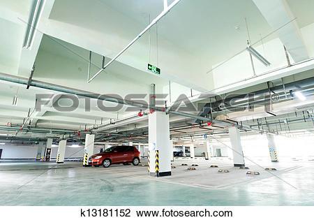 Stock Photo of Underground garage k13181152.