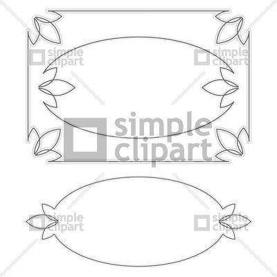 Subtle frames Vector Image #1147.