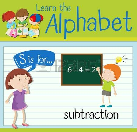 4,912 Subtraction Stock Illustrations, Cliparts And Royalty Free.