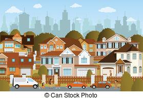 Suburbs Vector Clipart EPS Images. 3,251 Suburbs clip art vector.