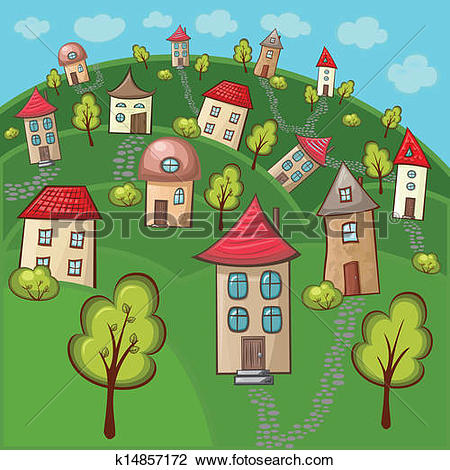 Suburbs Clipart and Illustration. 2,942 suburbs clip art vector.