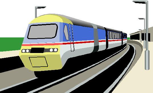 Subway Train Clipart.