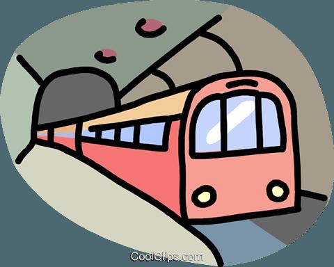 transportation, subway Royalty Free Vector Clip Art.