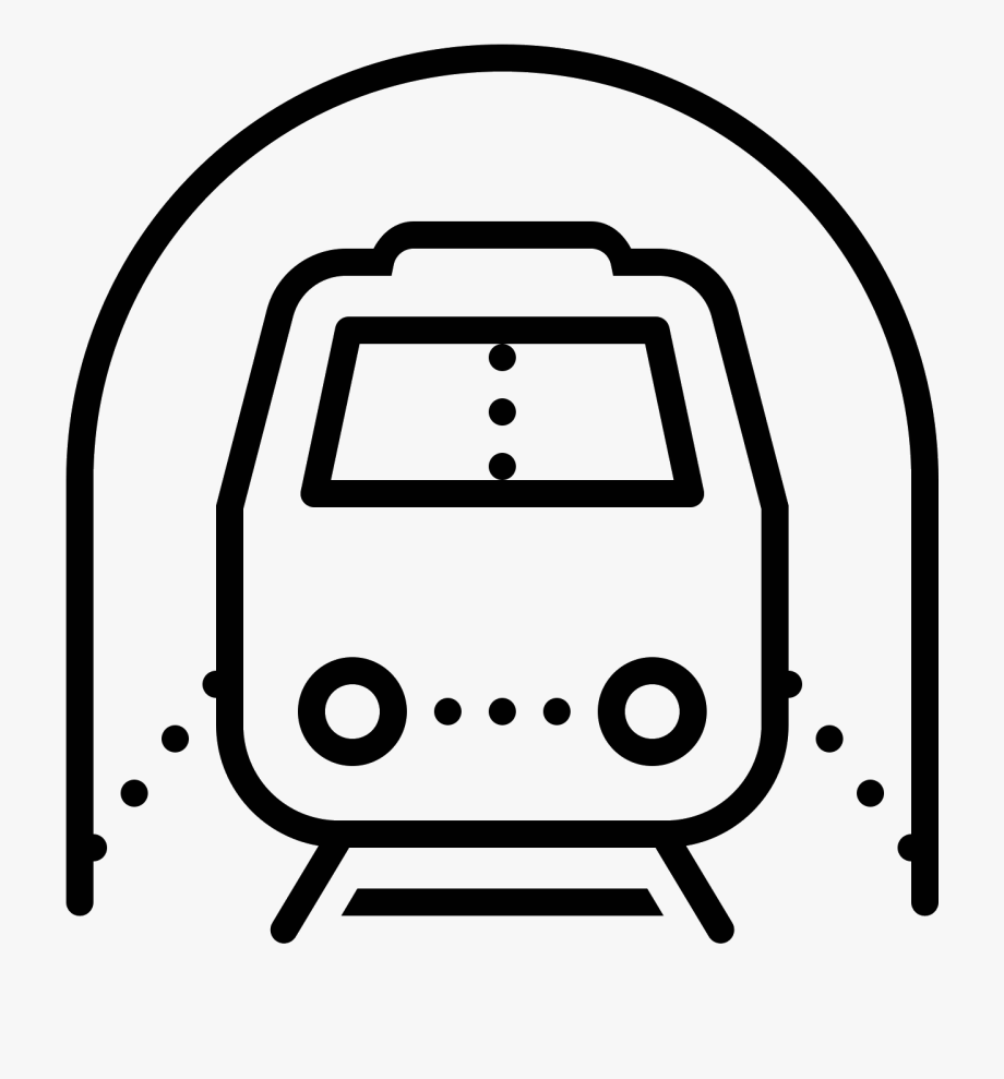 It\'s An Icon For A Subway Train.