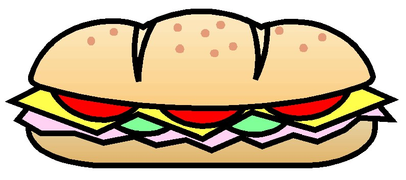 New! SUBWAY Sandwich Lunch Thursday March 7.