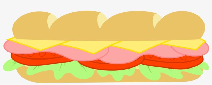 Sandwich Clipart Subway Restaurant.