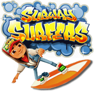 Subway Surfers Character and Logo transparent PNG.