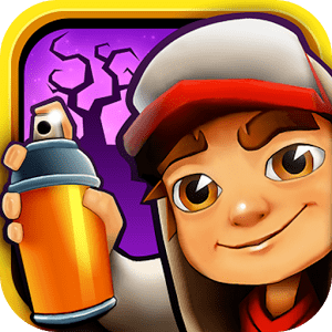 Subway Surfers Icon transparent PNG.