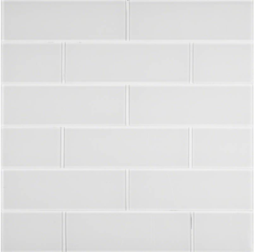 Ice Glass Subway Tile 4x12.
