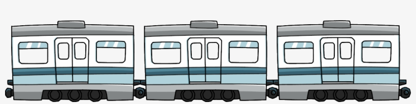 Subway Train Png.