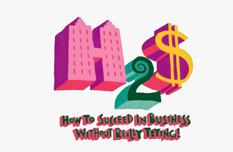 How To Succeed In Business Logo.