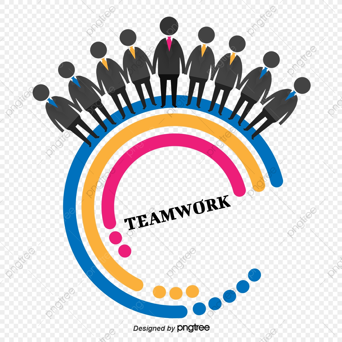 Teamwork Will Succeed, Teamwork Clipart, Team Effort.