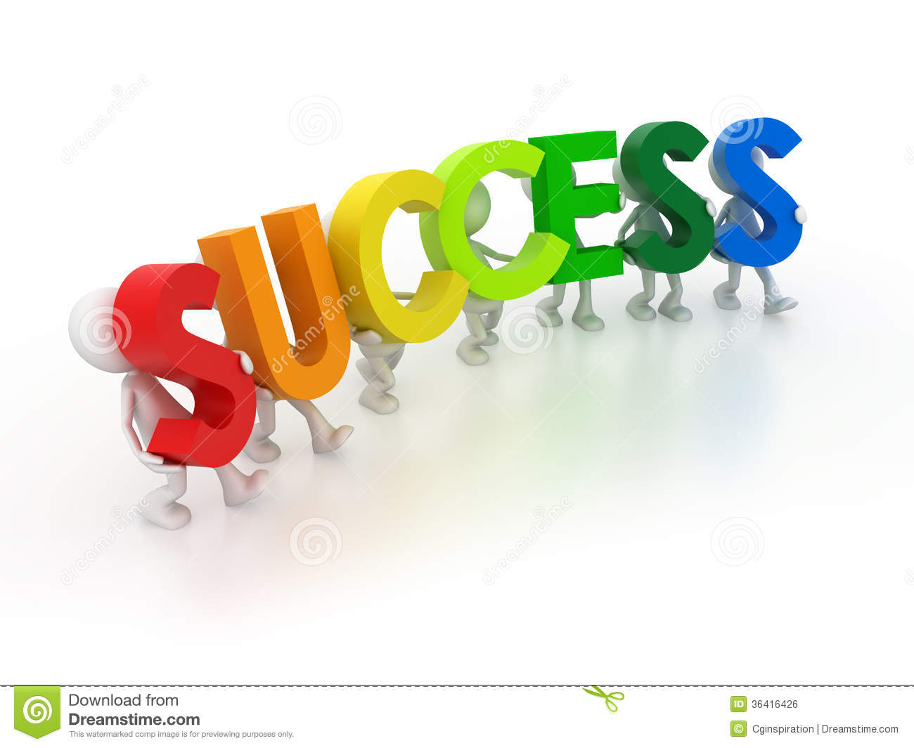 Road To Success Clipart.