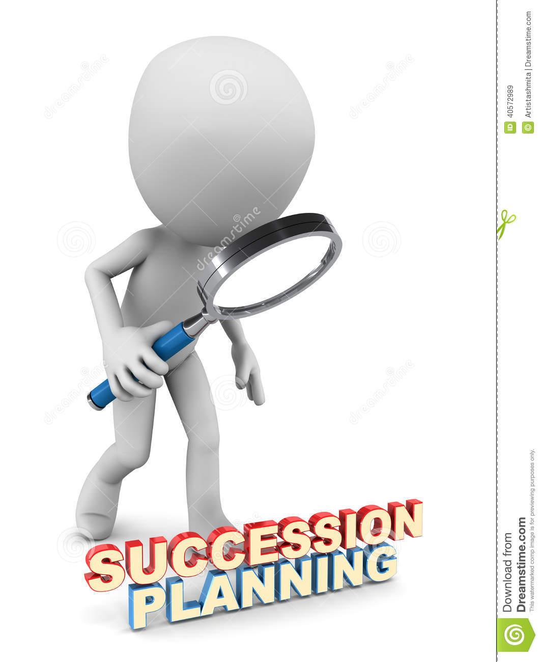 Succession Planning Stock Illustration.