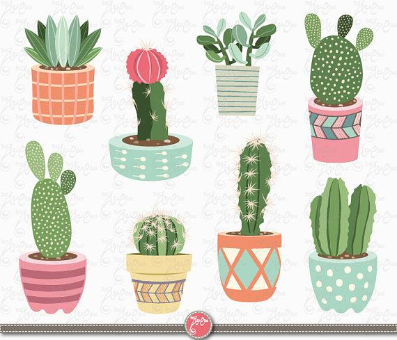 Cactus clip art \