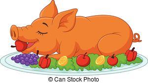 Suckling pig Stock Illustrations. 22 Suckling pig clip art images.