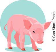 Suckling pig Vector Clip Art EPS Images. 17 Suckling pig clipart.