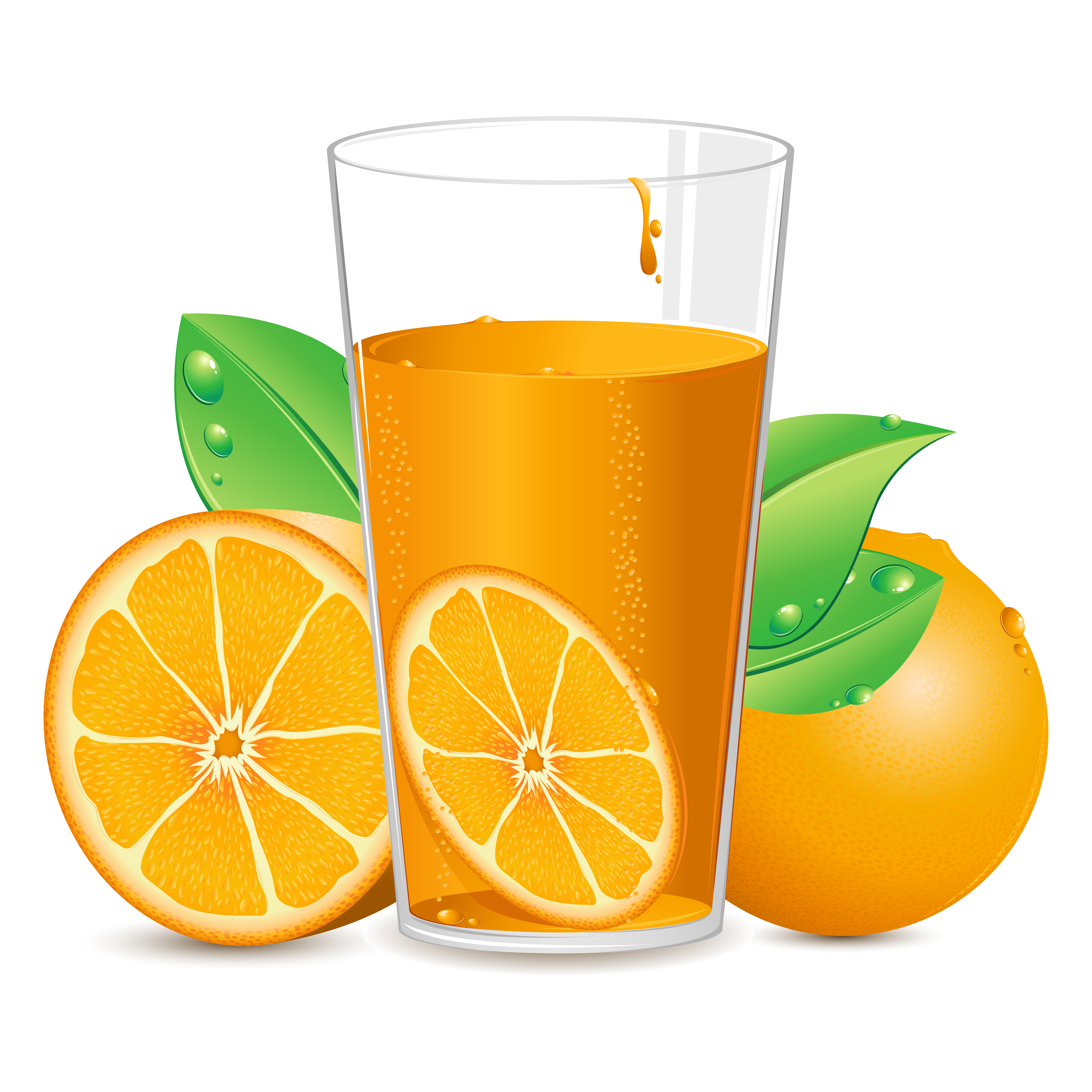 Suco de laranja.