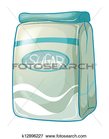 Clipart of sack of sugar k11514891.