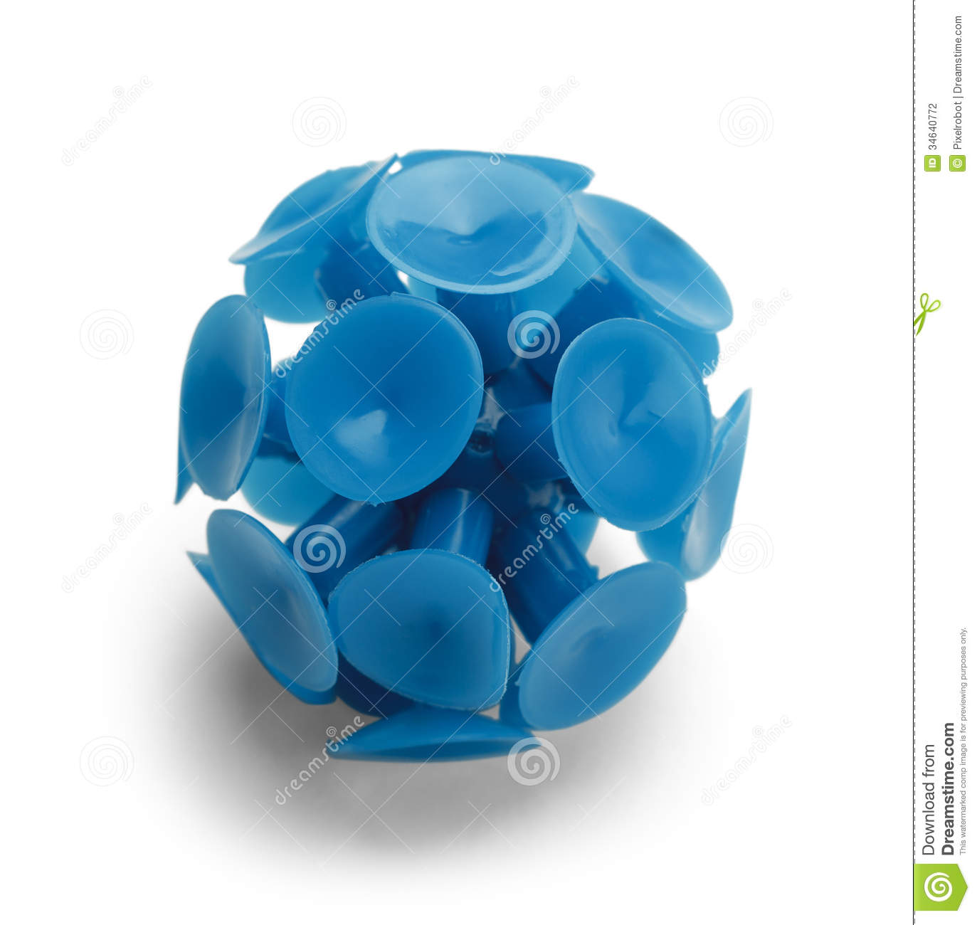 Suction Cup Ball Stock Photography.
