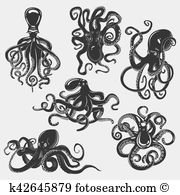 Suction cups Clip Art Royalty Free. 50 suction cups clipart vector.