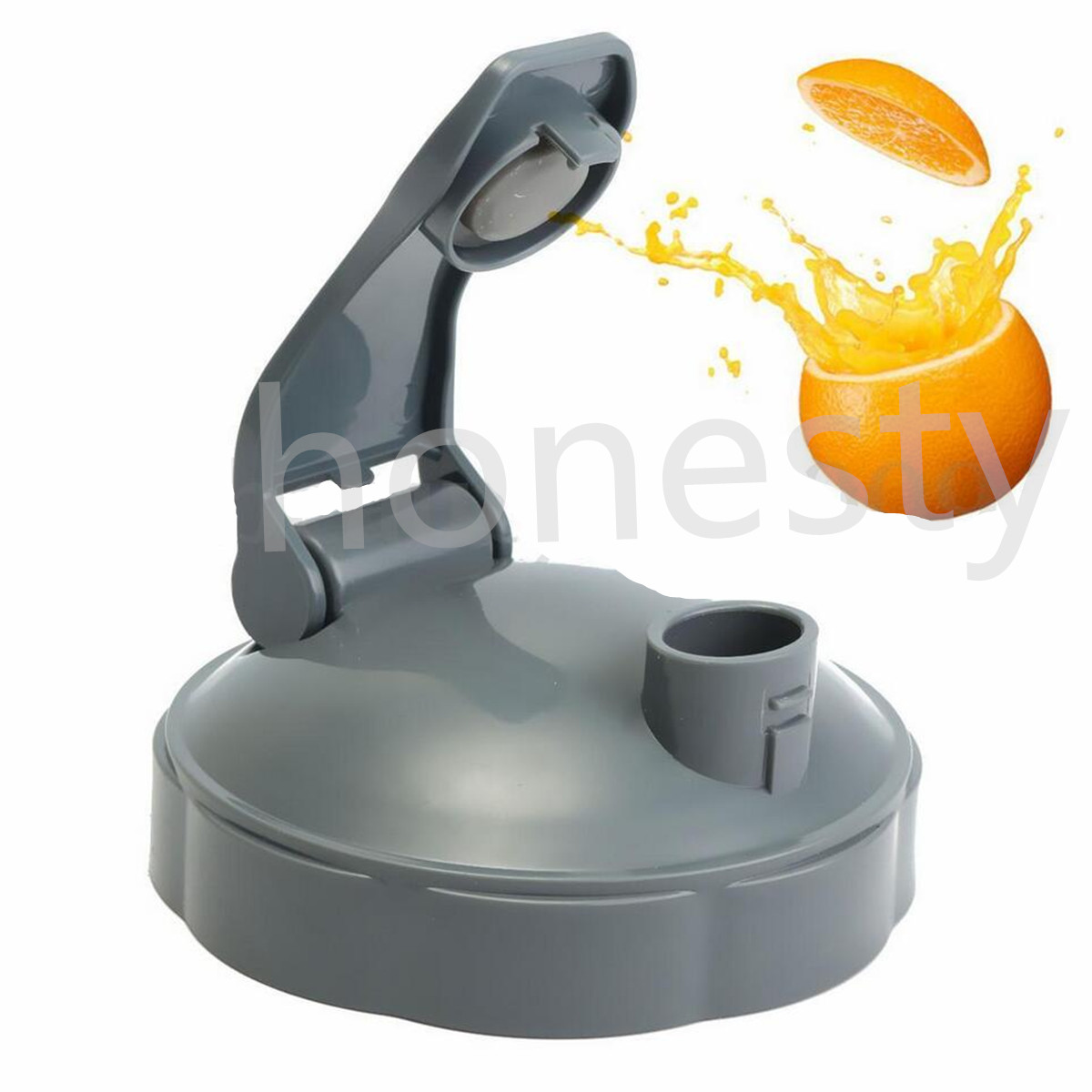 Gray Suction Nozzle Cover Flip Top To.