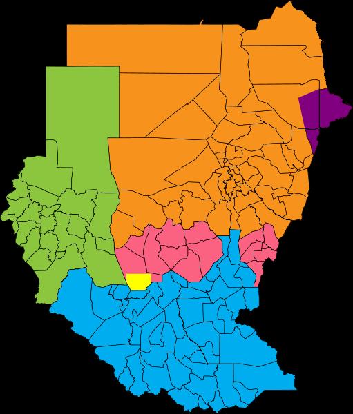 Maps of South Sudan.