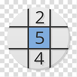 Numix Circle For Windows, sudoku icon transparent background.