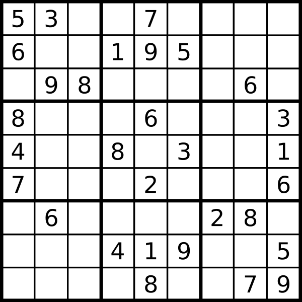Sudoku Png Vector, Clipart, PSD.
