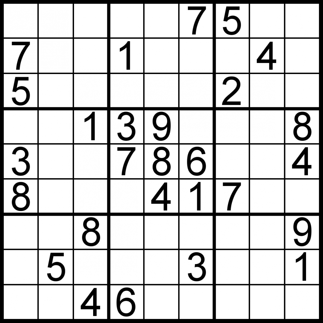 Free sudoku for your local publications!.