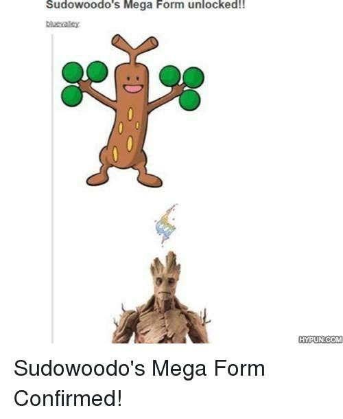 Funny Sudowoodo Memes of 2017 on me.me.