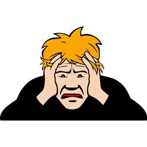 Headache (#2) clipart, cliparts of Headache (#2) free.