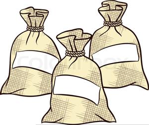 Sugar Bag Clipart.