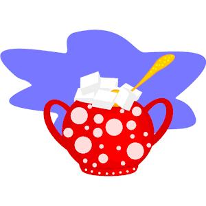 Sugar Bowl clipart, cliparts of Sugar Bowl free download (wmf, eps.