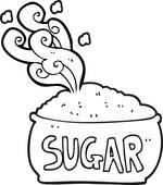 Sugar Bowl Clip Art.