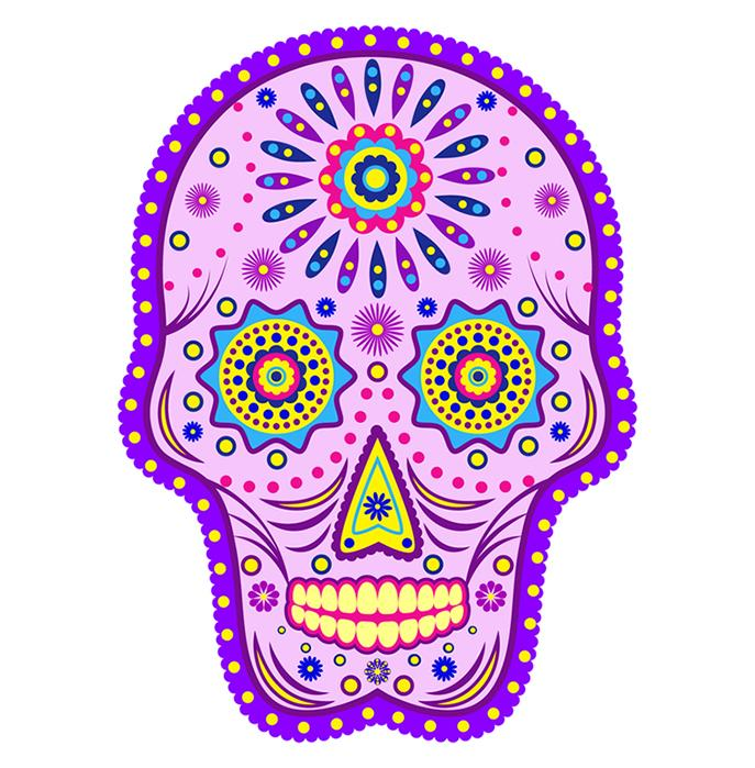 Candy Skull Clipart.