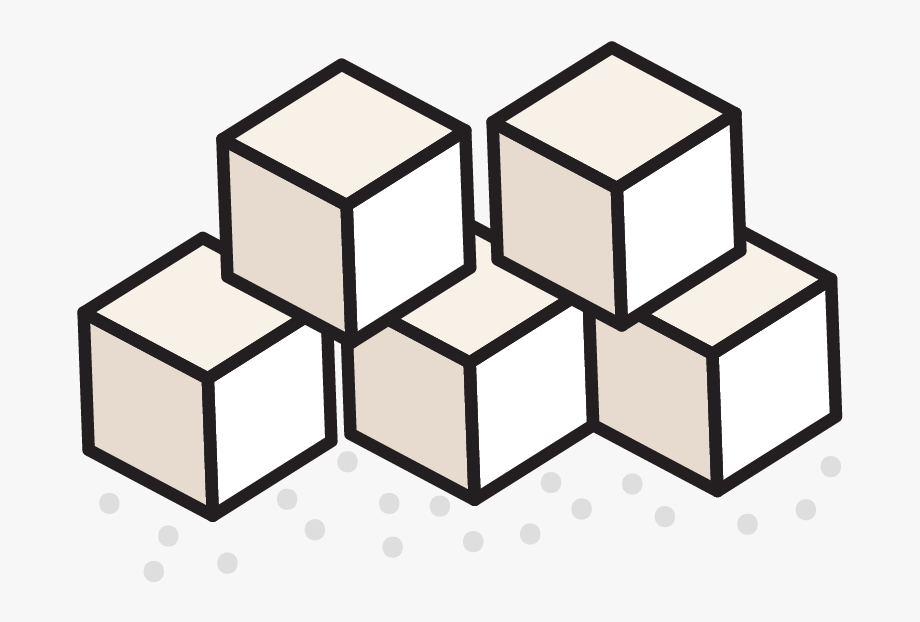 Change 4 Life Sugar Cubes Clipart.