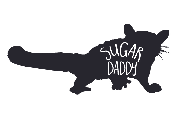 Sugar Daddy SVG Cut Files.