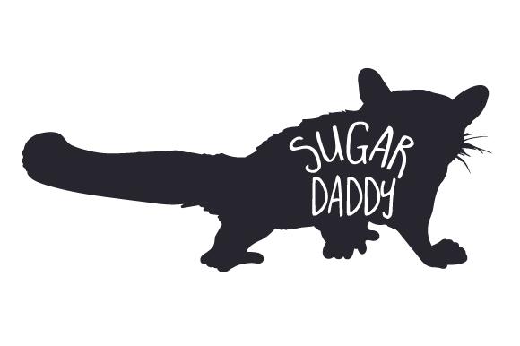 Sugar Daddy SVG Cut Files.