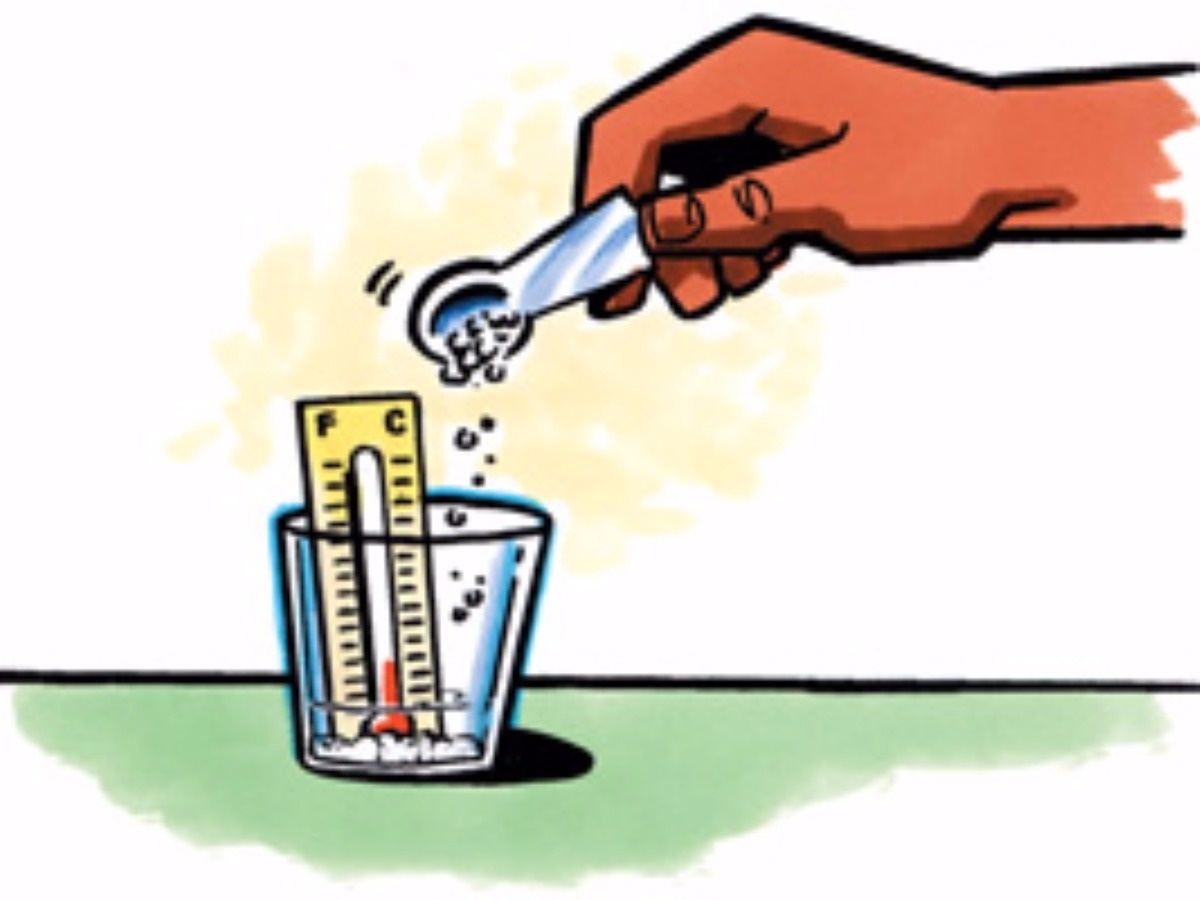 Dissolving Sugar At Different Heats Experiment.