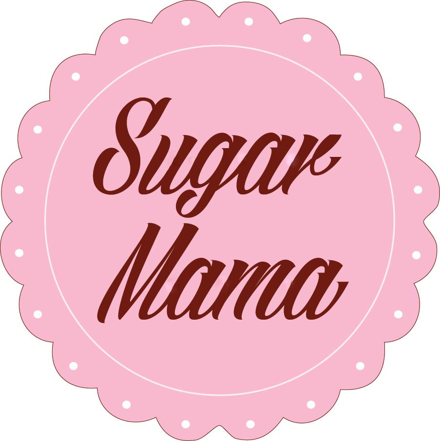 Sugar mama font.
