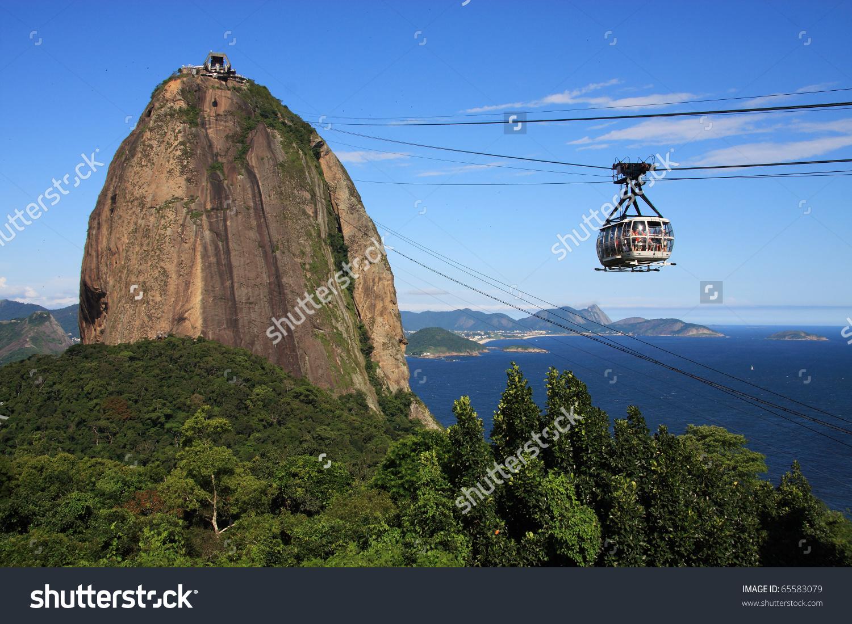 Brazil Rio De Janeiro Sugar Loaf Stock Photo 65583079.