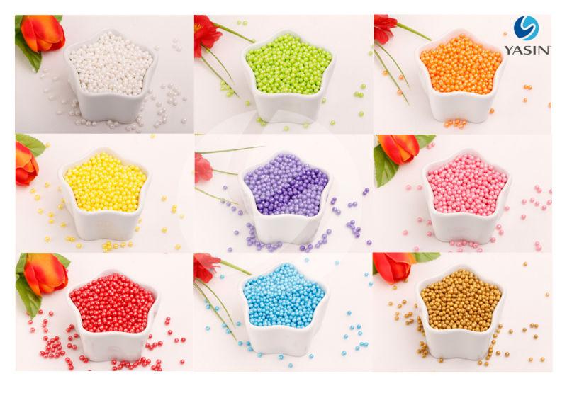 Edible Sugar Pearls 8mm (large Size).
