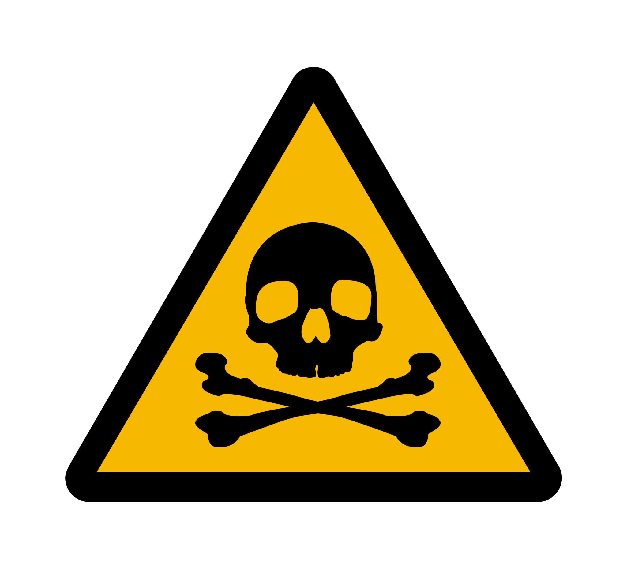 Hazardous Chemical Clipart.