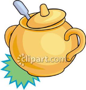 Clipart sugar bowl.