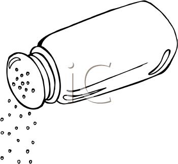 247 Salt Shaker free clipart.