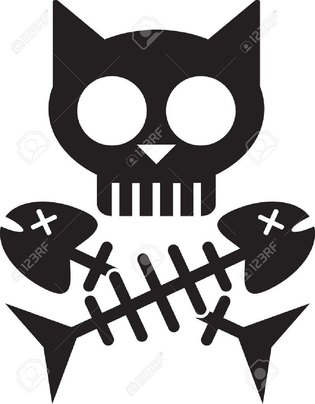 Kitty Clip Art Images sugar skull cat ...